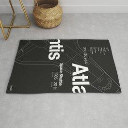 Atlantis - Blueprint & Data 2 Rug