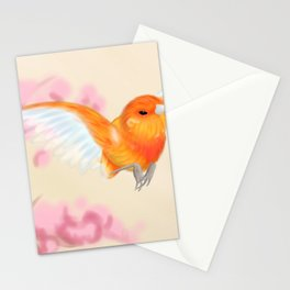 Red Canary Stationery Cards