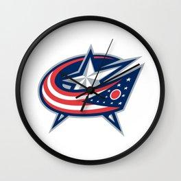 Columbus Blue Jacket Logo Wall Clock