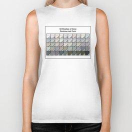 50 Shades Of Grey : Pantone Swatches - Pantone not Porn Biker Tank