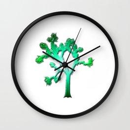 Joshua Tree Verdant by CREYES Wall Clock