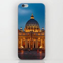 Basilica Papale di San Pietro in Vaticano - ROME iPhone Skin