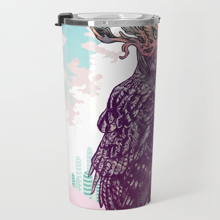 Journeying Spirit (Owl) Travel Mug