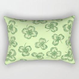 Clovers Rectangular Pillow