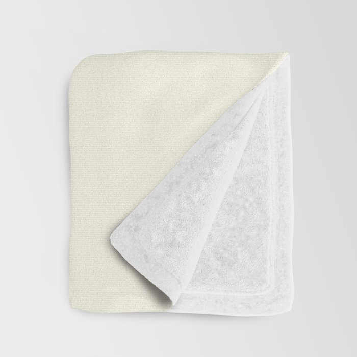 Pale Yellow Throw Blanket.Yellow Flower On Pale Yellow Throw Blanket