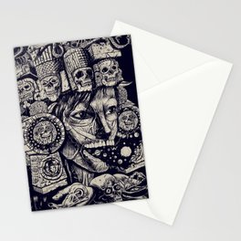 Mictecacihuatl 2 Stationery Cards