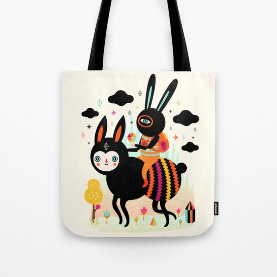 Walking Away Tote Bag