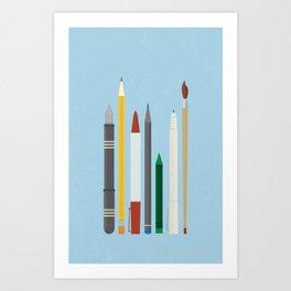 Write Stuff Art Print