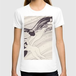12,000pixel-500dpi - Gustav Klimt - Fish Blood - Digital Remastered Edition T-shirt