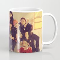 fandom Mugs featuring Karasuno by viria