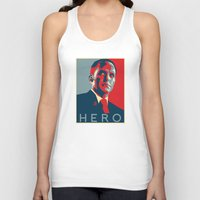 hero Tank Tops featuring Hero by Skylofts Merch