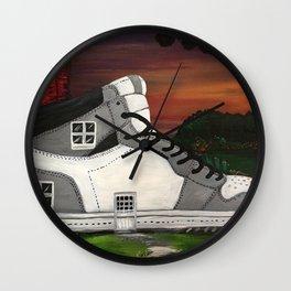 Shoe Value Wall Clock