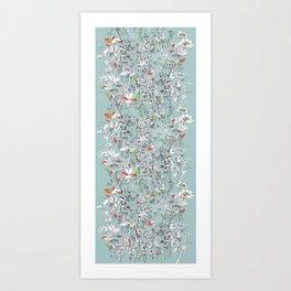 3-botani Art Print