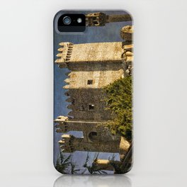 Penedono medieval castle, the Douro district of Portugal iPhone Case