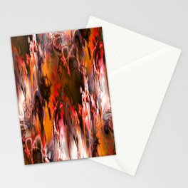 Marshmellow Skies (warm earth tones) Stationery Cards