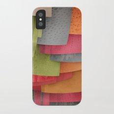 Explore colour Slim Case iPhone X