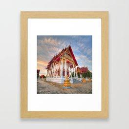 Temple #6 Framed Art Print