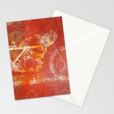 Metal Speed Stationery Cards