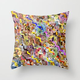 WHAT'S UP 05 Throw Pillow