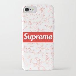 Supreme 6 iPhone Case