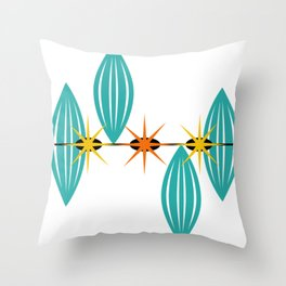 Mid-Century Modern Art 1.5 Throw Pillow