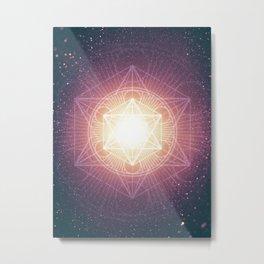 Divine Consciousness Metal Print