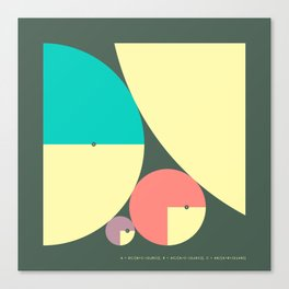 DESCARTES' THEOREM (2b) Canvas Print