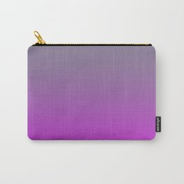 GET LOST - Minimal Plain Soft Mood Color Blend Prints Carry-All Pouch