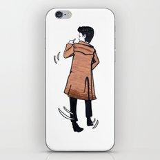The Doctor dances iPhone & iPod Skin