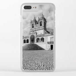 Sanctuary of Our Lady of Nazare Clear iPhone Case