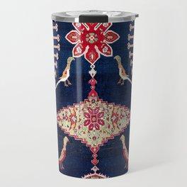 Karabagh Azerbaijan South Caucasus Kelleh Rug Print Travel Mug