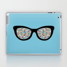 Heart Eyes Laptop & iPad Skin