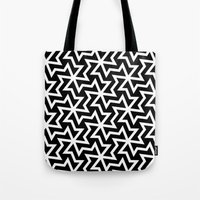 arabic Tote Bags featuring Arabic by Patterns and Textures