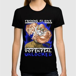 Training to have potential unlocked - Master Roshi T-shirt
