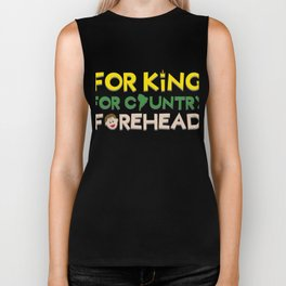 Biggest and Shiniest Forehead Tshirt design For all Biker Tank
