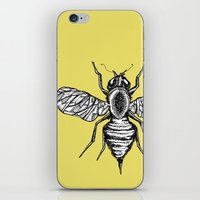 bee iPhone & iPod Skins featuring Bee by Aubree Eisenwinter