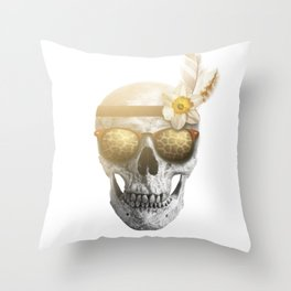 "Mortem in Gloria ""Ati"" Throw Pillow"