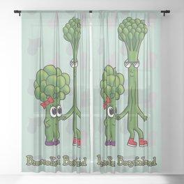 Broccolini Boyfriend Sheer Curtain