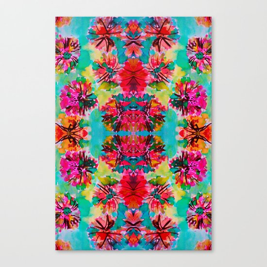Tropical Floral Canvas Print