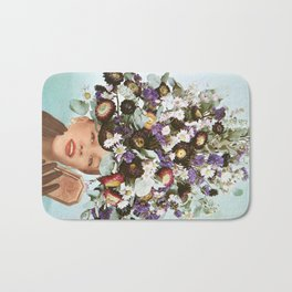 Floral Fashions III Bath Mat