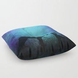 Wolf Whisperer Floor Pillow