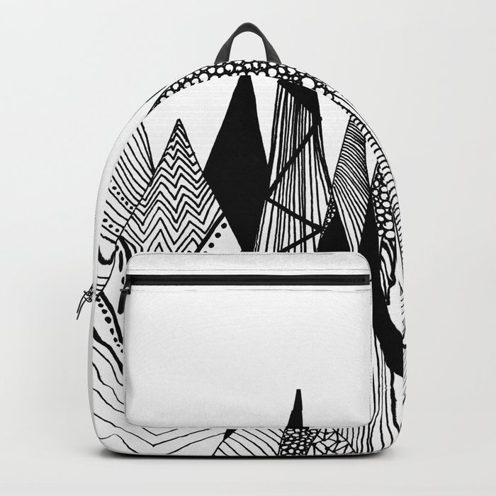 Patterns in the mountains II Backpack