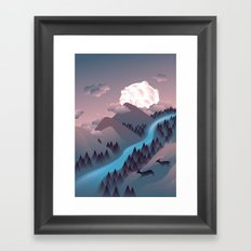 Sunquake Framed Art Print