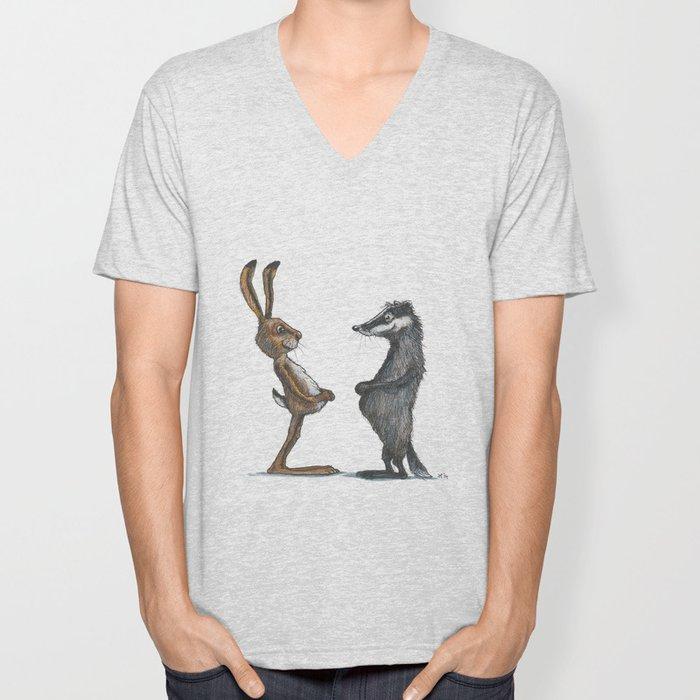 Hare & Badger Unisex V-Neck