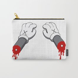 Cut Your Hand Carry-All Pouch