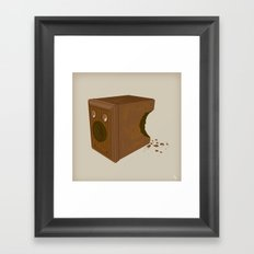 Chocolate Brownie Framed Art Print