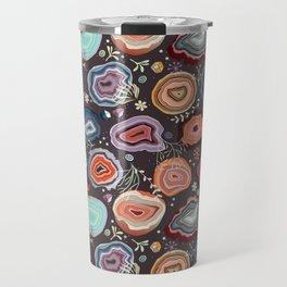 Colorful agates Travel Mug