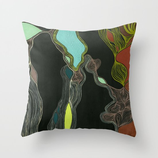 I Wish I Was In Oslo Throw Pillow