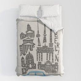 Berlin Cityscape Comforters