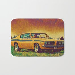 1969 Plymouth Barracuda 440 Bath Mat